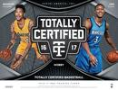 2016/17 Panini Totally Certified Basketball Hobby 8-Box Case (Presell)