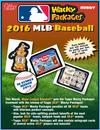 2016 Topps Wacky Packages Baseball Hobby 8-Box Case (Presell)