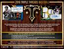 2016 Topps Triple Threads Baseball Hobby 9-Box Case - DACW Live 30 Spot Random Team Break #3