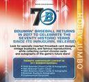 2017 Bowman Baseball Jumbo 8-Box Case- DACW Live 30 Random Team Break #1