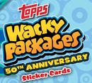 Wacky Packages 50th Anniversary Hobby 8-Box Case (Topps 2017) (Presell)