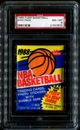 1988/89 Fleer Basketball Wax Pack PSA 8 (NM-MT)