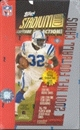 2001 Topps Stadium Club Football Hobby Box