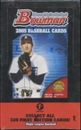 2005 Bowman First Edition Baseball Hobby Box