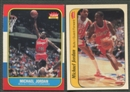 1986/87 Fleer Basketball Complete Set w/Stickers NM