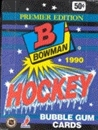1990/91 Bowman Hockey Wax Box
