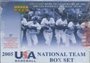 2006 Upper Deck Team USA Baseball National Team Factory Set (Box)