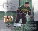 2001/02 Upper Deck Top Shelf Hockey Hobby Box