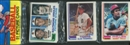 1982 Topps Baseball Rack Pack Cal Ripken Jr. Rookie On Top