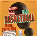 1990/91 Fleer Basketball Cello Box
