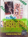 1993/94 Fleer Series 1 Basketball Hobby Box