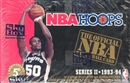 1993/94 Hoops Series 2 Basketball Hobby Box