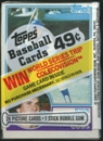 1983 Topps Baseball Cello Pack With Ryne Sandberg On Top