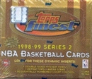 1998/99 Topps Finest Series 2 Basketball Jumbo Box
