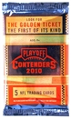 2010 Playoff Contenders Football Hobby Pack