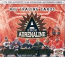 2001/02 Pacific Adrenaline Hockey Hobby Box
