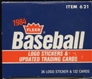 1984 Fleer Update Baseball Factory Set
