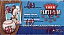 2002 Fleer Platinum Baseball Hobby Box