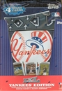 2005 Topps XXL New York Yankees Edition Baseball Hobby Box