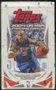 2004/05 Topps Basketball 36 Pack Retail Box