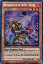 Yu-Gi-Oh Judgment of Light Single Bortherhood of the Fire Fist - Rooster SECRET RARE