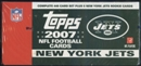 2007 Topps Football Factory Set (Box) (New York Jets)