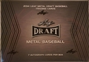 2014 Leaf Metal Baseball Hobby Box