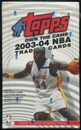 2003/04 Topps Basketball 36 Pack Retail Box