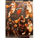 Fathead Miami Heat Team Set Wall Graphic (Lot of 10)