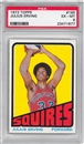 1972/73 Topps Basketball #195 Julius Erving Rookie PSA 6 (EX-MT) *1877
