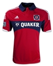 Chicago Fire Adidas ClimaCool Red Replica Jersey