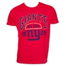 New York Giants Junk Food Red 1925 Tee (Adult Small)