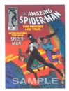 Image for  Amazing Spider-Man #252 3-D Comic Card