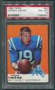 1969 Topps Football #25 Johnny Unitas PSA 8 (NM-MT) *4800