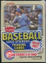 1983 Fleer Baseball Cello Pack With Ryne Sandberg On Top