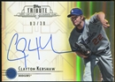 2014 Topps Tribute Autographs Yellow #TACKE Clayton Kershaw 3/30