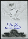 2014 Topps Tribute Tribute to the Pastime Autographs Printing Plates Black #TPTDF David Freese 1/1