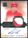 2011/12 Upper Deck The Cup #116 Gustav Nyquist 174/249 Rookie Patch Autograph