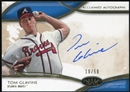 2014 Topps Tier One Acclaimed Autographs #AATG Tom Glavine 18/50