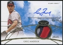 2014 Topps Tier One Autograph Relics #TOARGM Greg Maddux 69/99 3 Color Patch