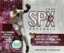 2006 Upper Deck SPx Baseball Hobby Box