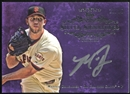 2013 Topps Five Star Silver Signings Purple #MB Madison Bumgarner 12/15