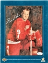 Gordie Howe Autographed 65th Birthday Magazine by Upper Deck (JSA)