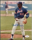 Bob Gibson New York Mets Signed Autographed Auto 8x10 JSA