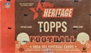 2006 Topps Heritage Football Hobby Box