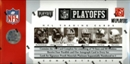 2006 Playoff NFL Playoffs Football Factory Set (Box Tin)