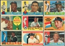1960 Topps Baseball Complete Set (EX-MT condition)
