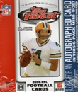 2006 Topps Finest Football Hobby 6 Pack Mini Box