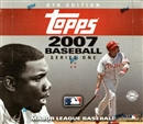 2007 Topps Series 1 Baseball Jumbo Box