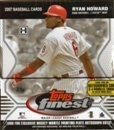 2007 Topps Finest Baseball Hobby Box